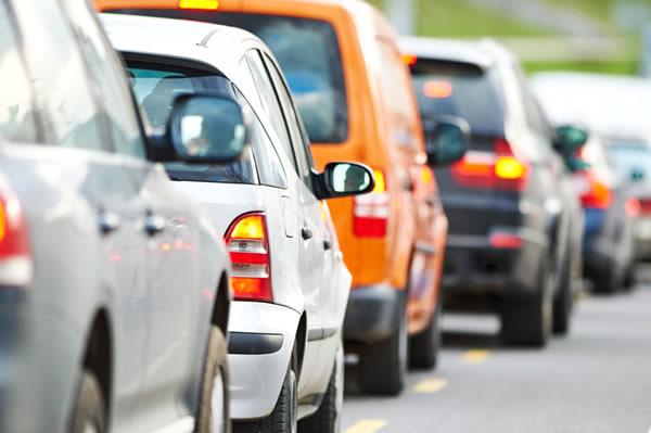 Congestion en Santiago